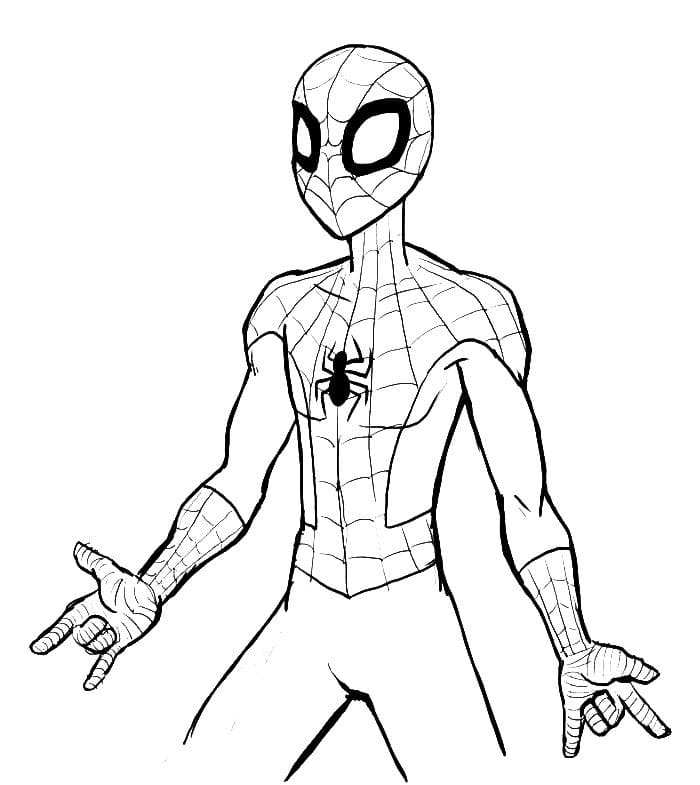 Miles Morales Coloring Pages Free Printable Coloring Pages