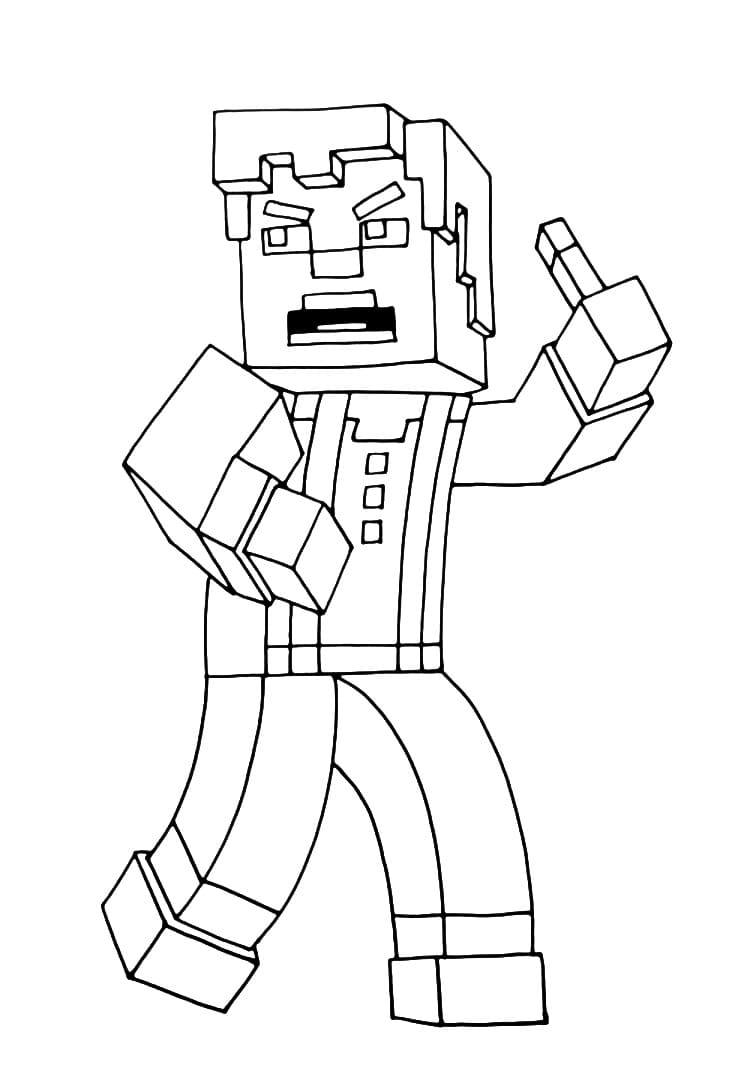 100 Minecraft Coloring Pages. Print or download | WONDER DAY
