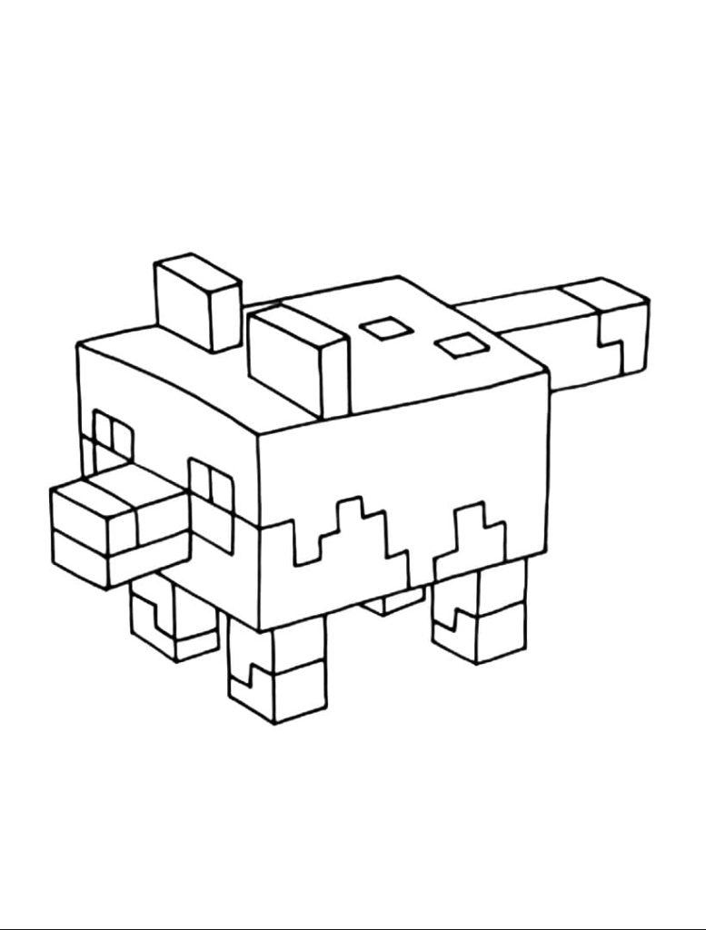 27 Ausmalbilder Minecraft. Kostenlos drucken  WONDER DAY