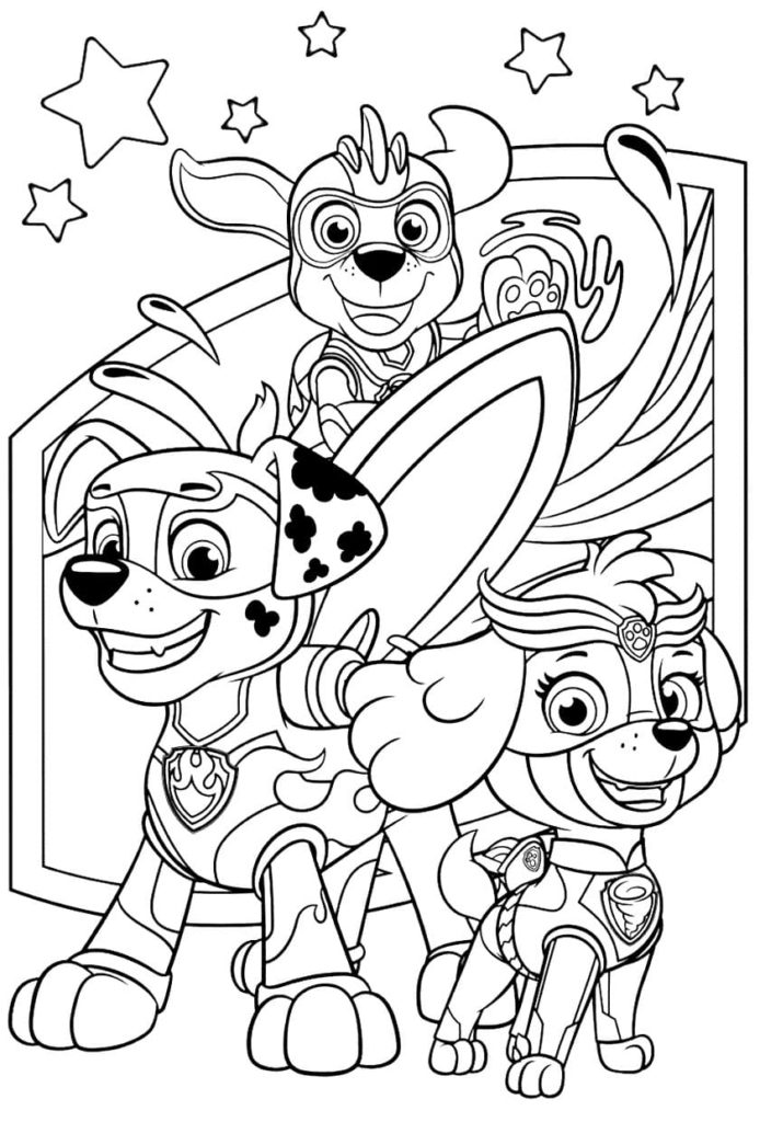 PAW Patrol Coloring Pages. Best Coloring Pages For Kids
