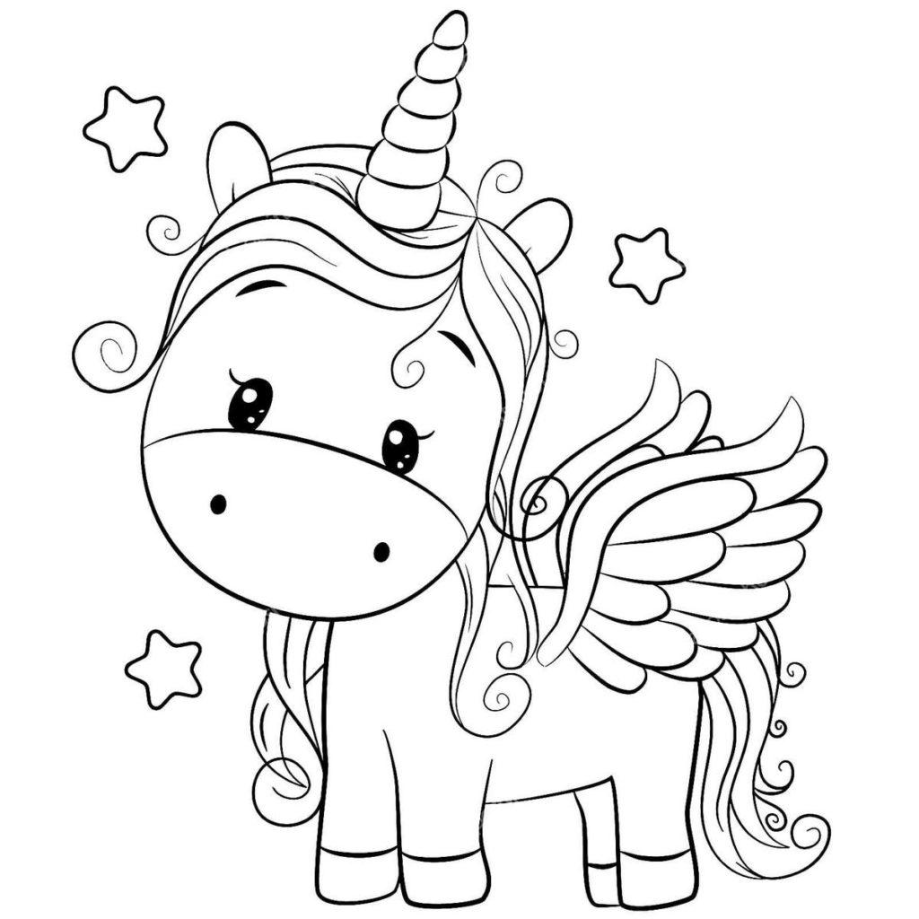 Disegni Di Unicorno Da Colorare Stampa Gratuitamente