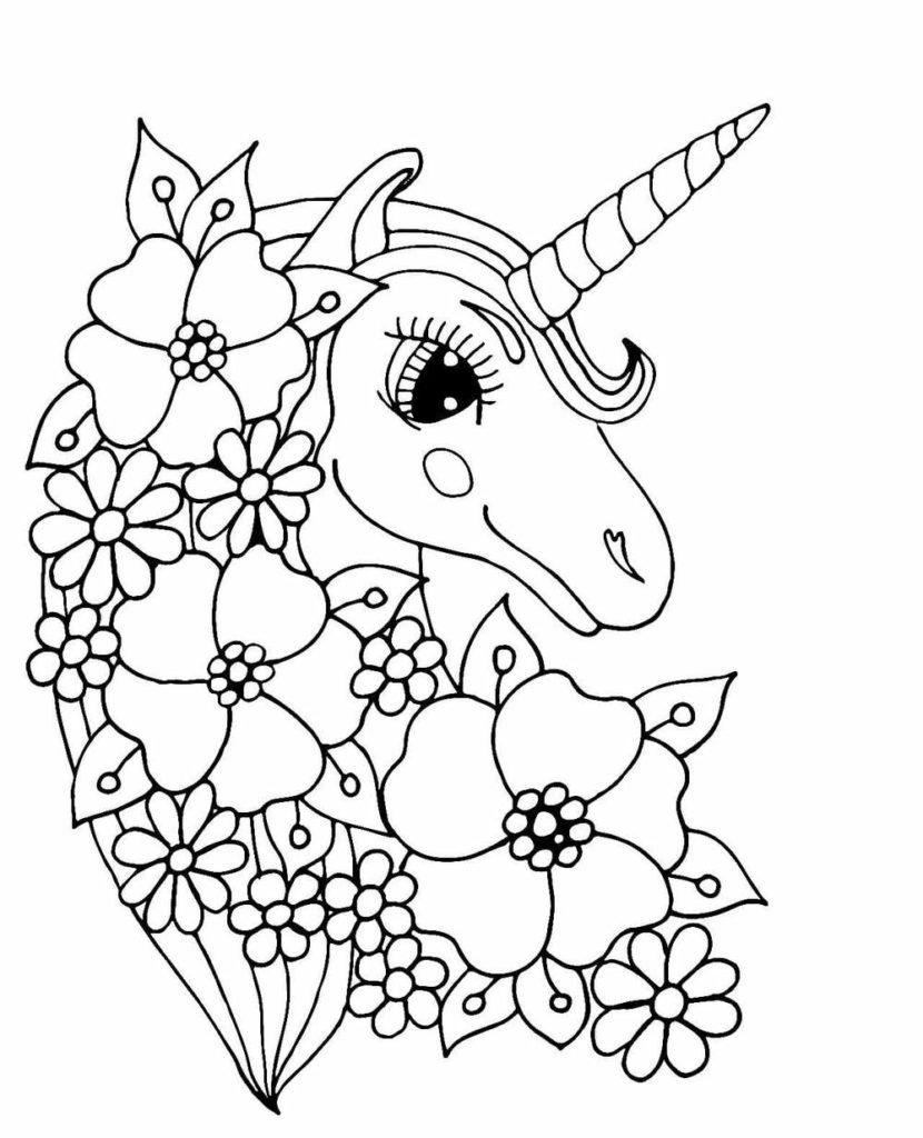Coloriage Licornes A Imprimer Gratuitement Wonder Day