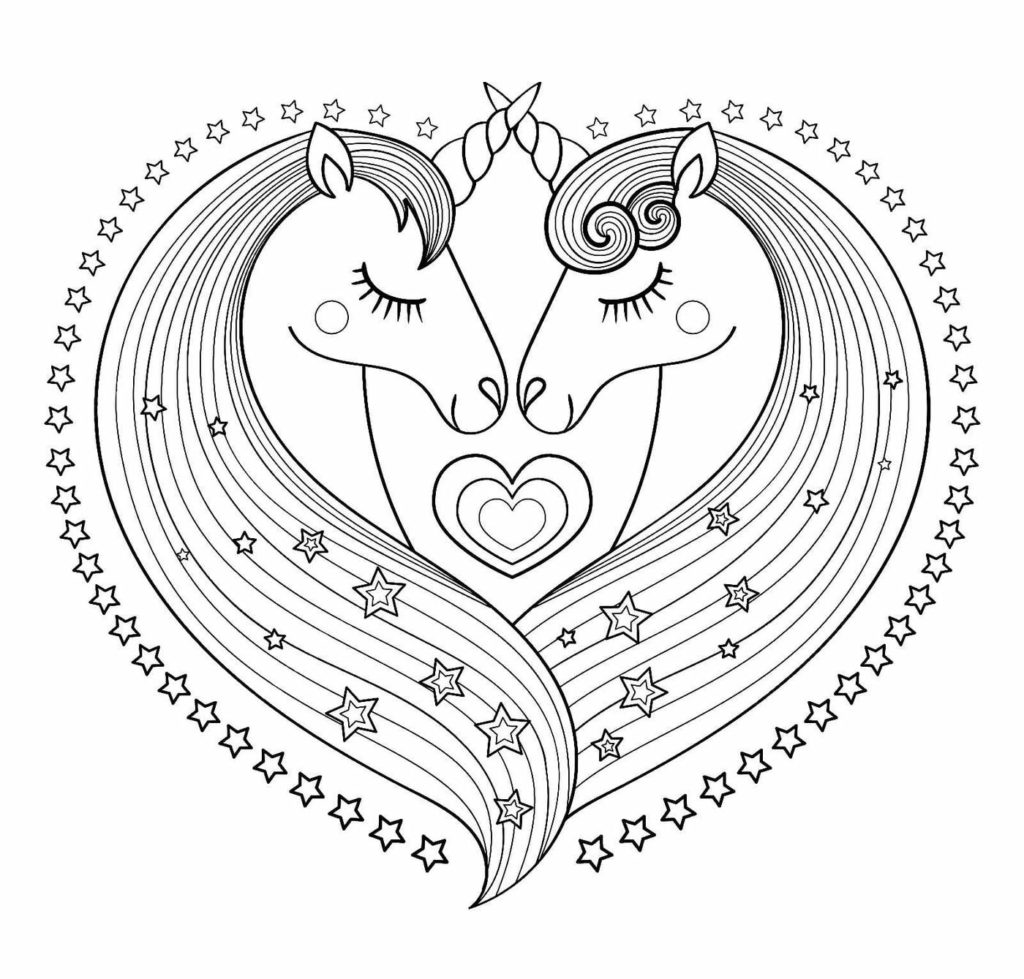 Unicorn Coloring Pages Free Printable Coloring Pages For Kids
