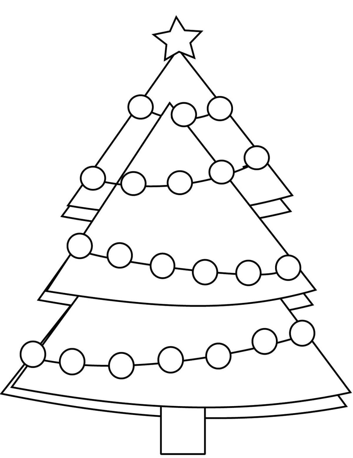 ausmalbilder weihnachtsbaum zum ausdrucken | wonder day