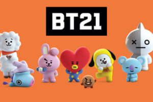 Coloriage BT21