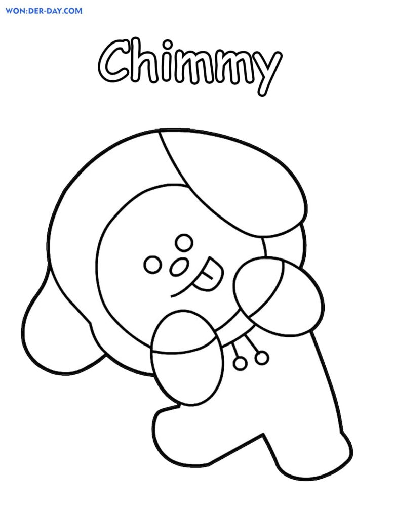 Bt21 Coloring Pages 80 Free Printable Coloring Pages