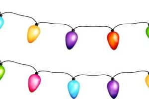 Christmas Lights coloring pages. Printable coloring pages