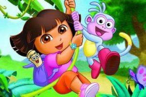 Coloriage Dora l'Exploratrice