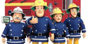 Раскраски Пожарный Сэм. Распечатать для детей