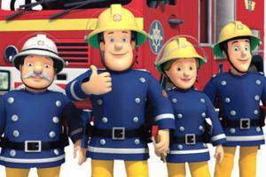 Coloriages de Sam le pompier