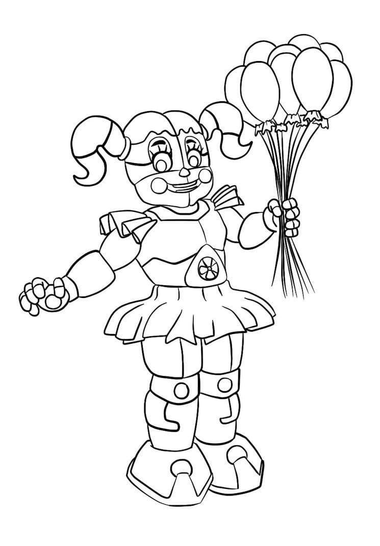 Dibujos de Five Nights at Freddy's para Colorear | WONDER DAY