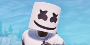 Marshmello Fortnite coloring pages. Print for free
