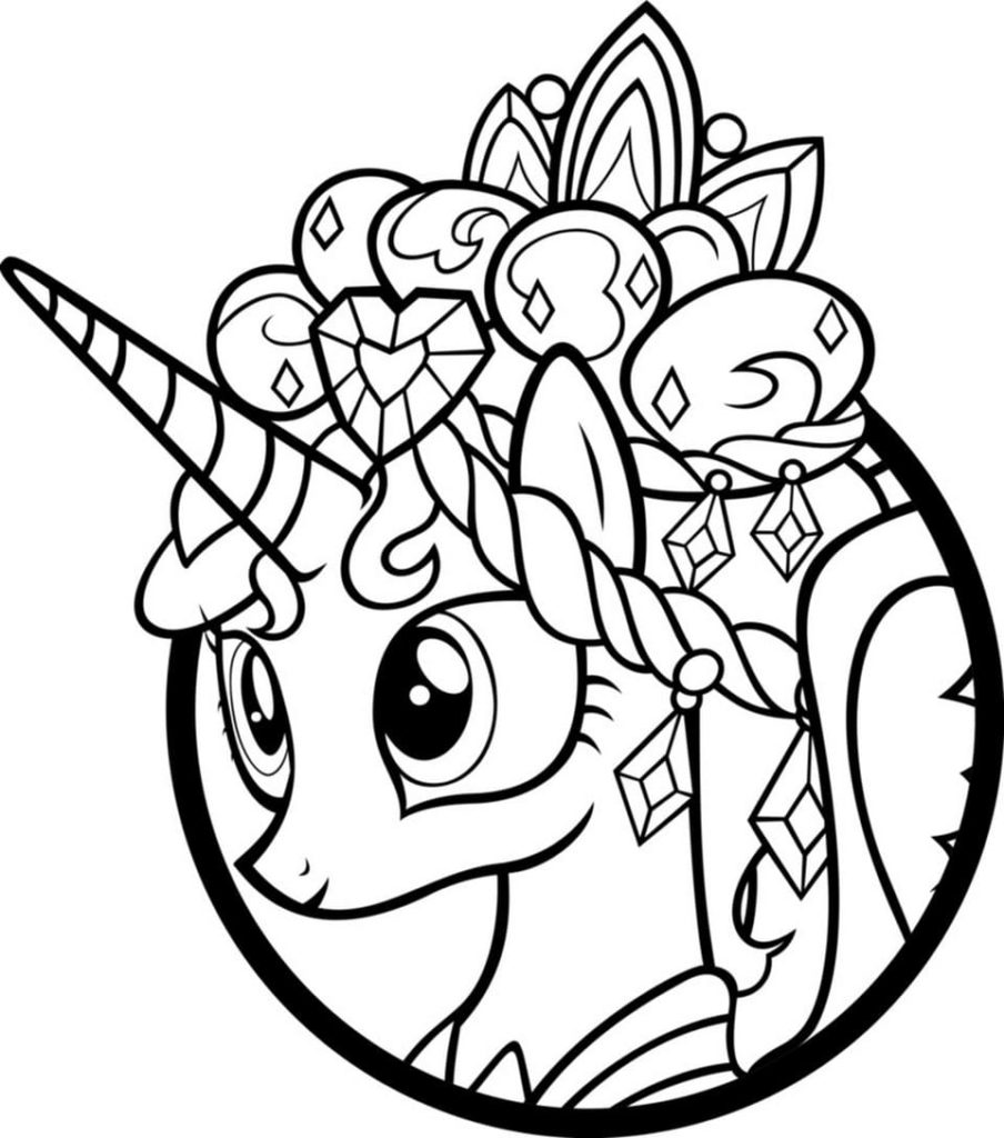 Coloriage My Little Pony