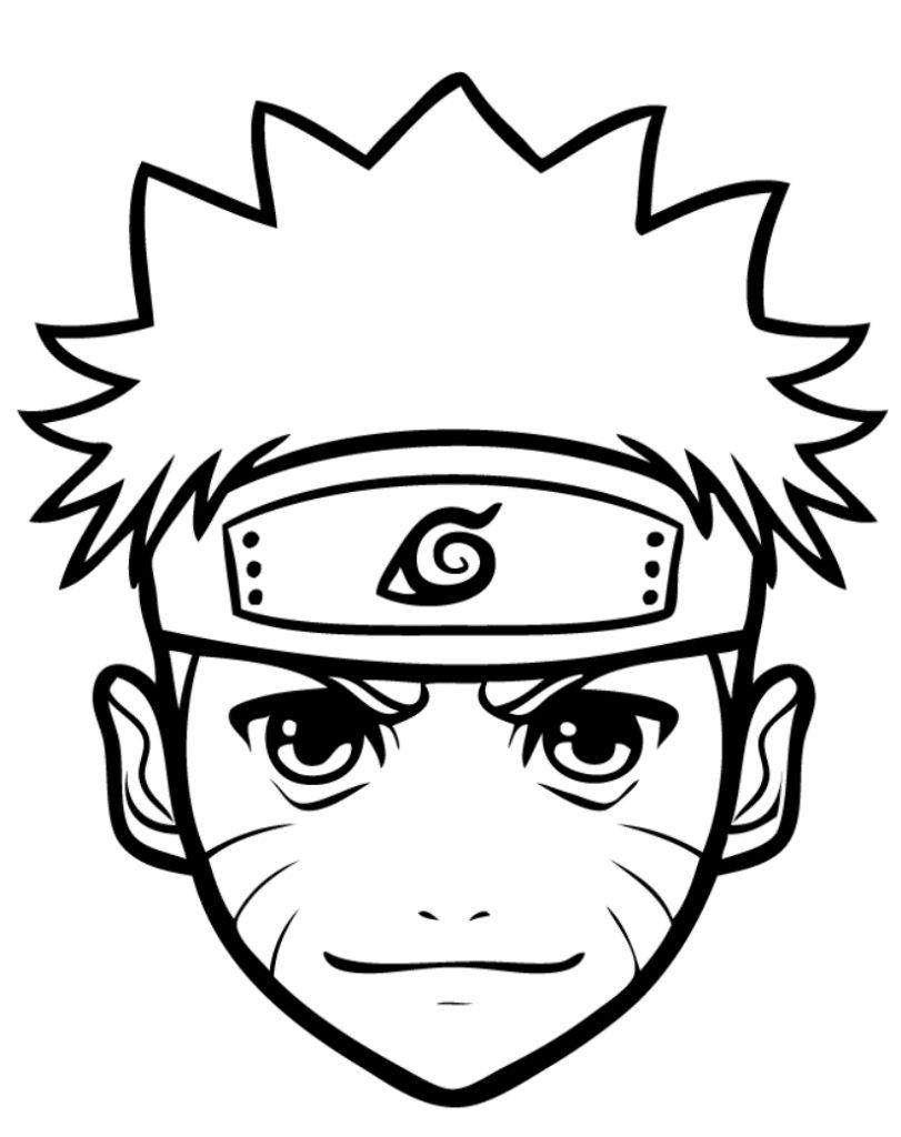 Ausmalbilder Naruto Zum Ausdrucken Wonder Day