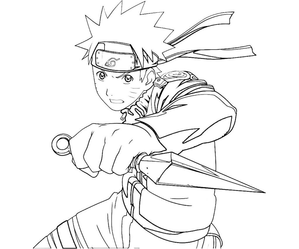 Ausmalbilder Naruto zum Ausdrucken  WONDER DAY — Ausmalbilder für