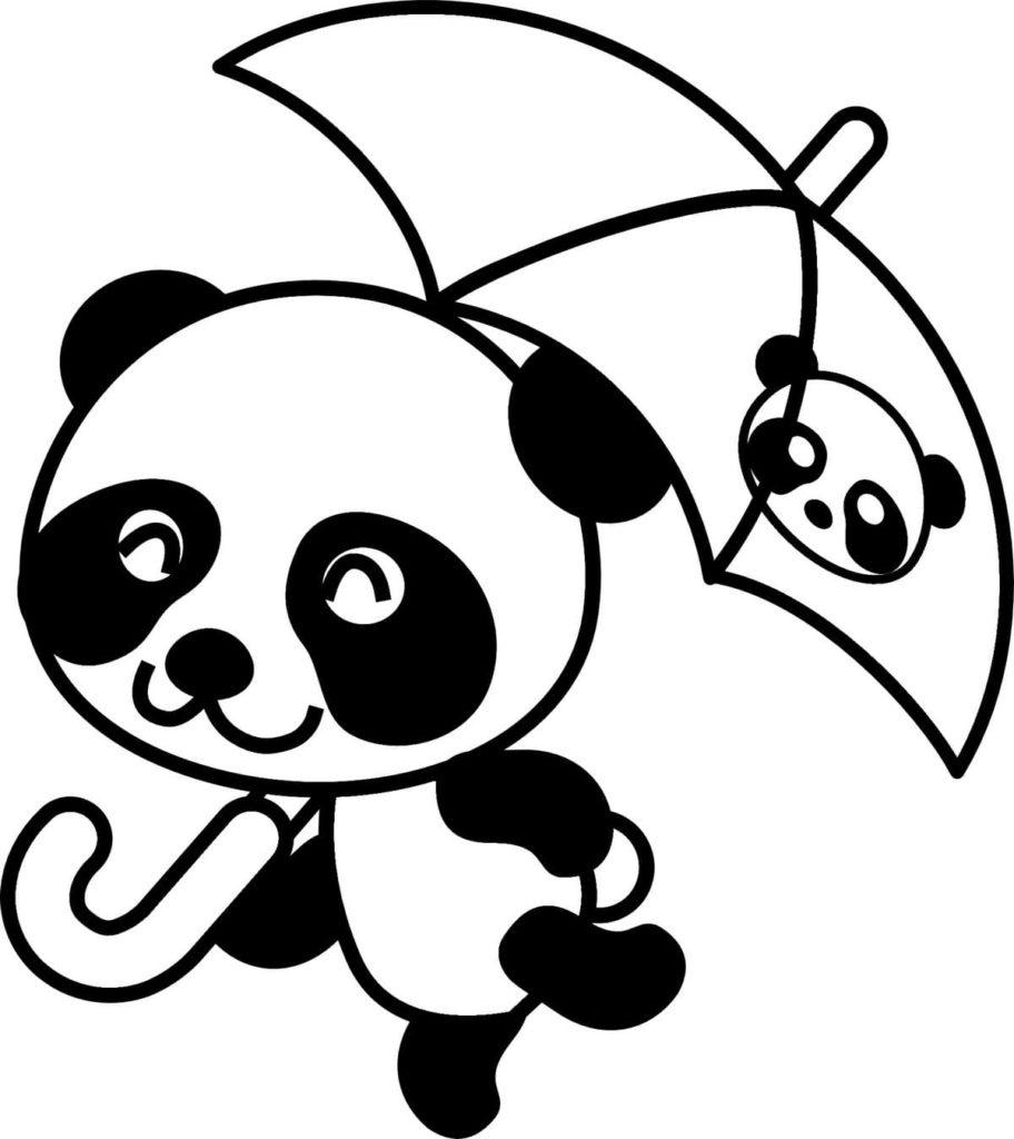 Ausmalbilder Panda zum Drucken  WONDER DAY — Ausmalbilder für