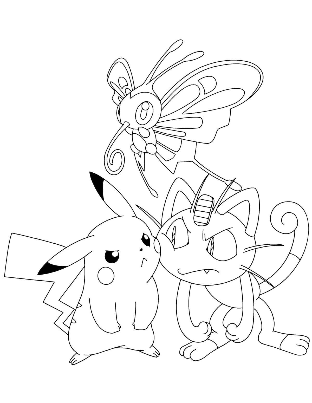ausmalbilder pokemon . kostenlos drucken | wonder day