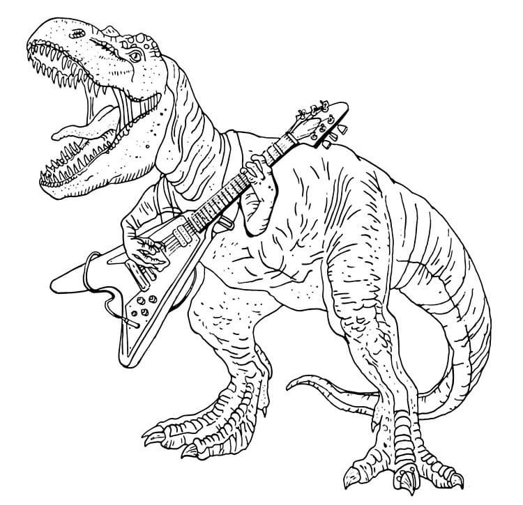 malvorlage dinosaurier t rex ausmalbild  trex ausmalbild