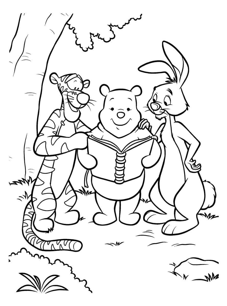 ausmalbilder winnie pooh — malvorlagen zum ausdrucken