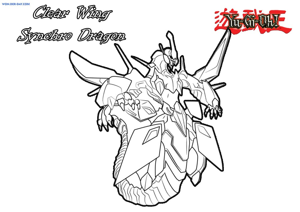 Yu Gi Oh Coloring Pages Printable Coloring Pages