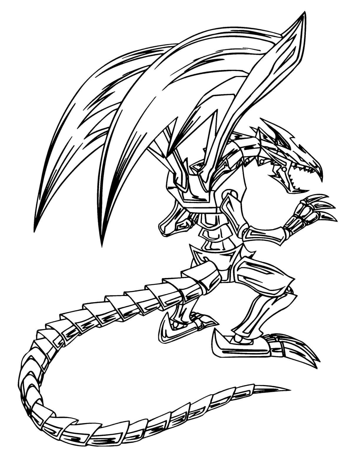 Ausmalbilder Yu-Gi-Oh kostenlos zum Drucken