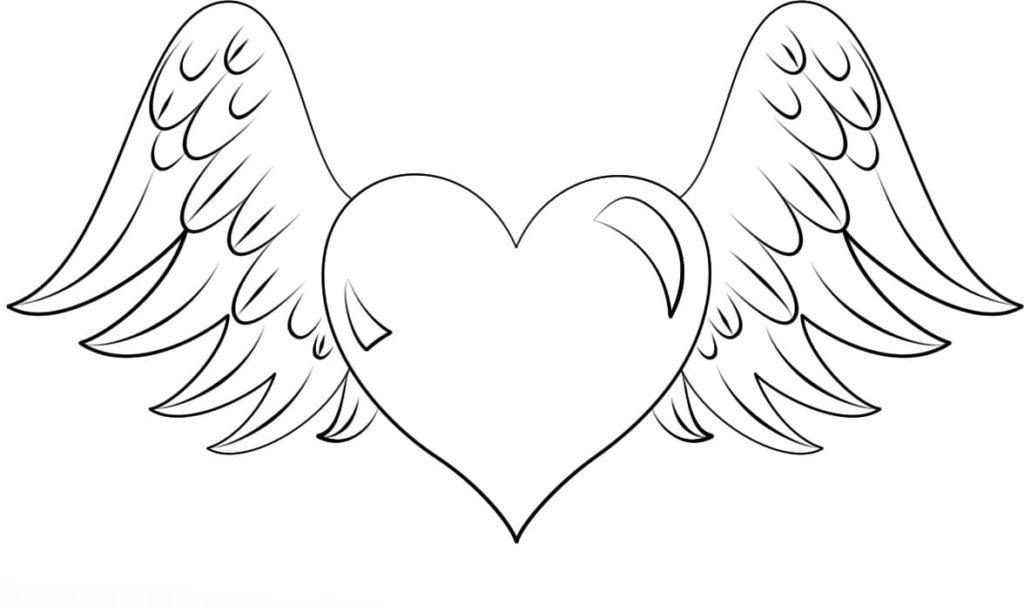 Ausmalbilder zum kostenlos herzen drucken Malvorlagen Herzen