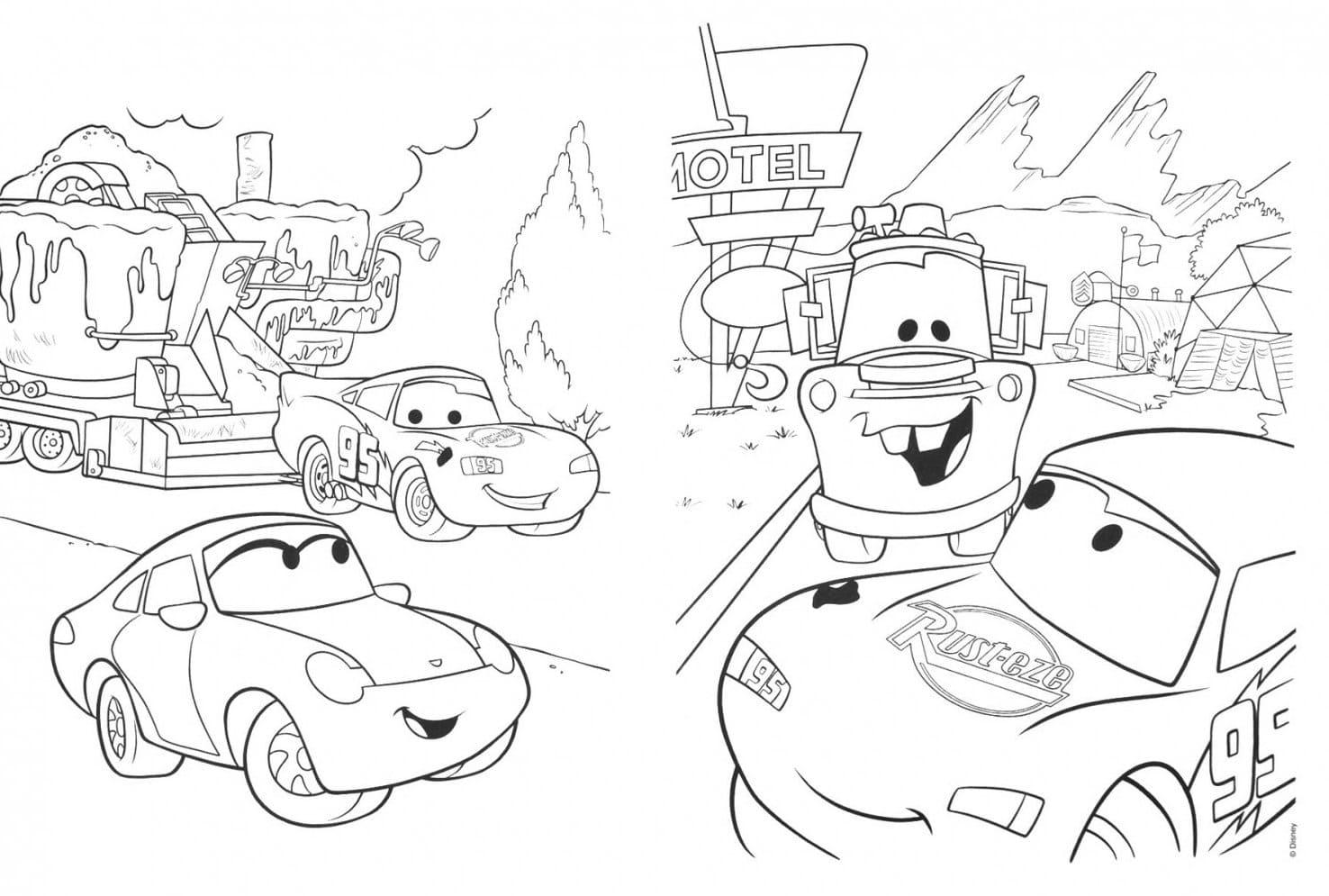ausmalbilder disney cars - malvorlagen zum ausdrucken
