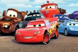 Desenhos de Carros Disney para colorir