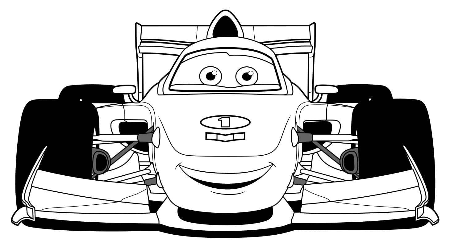 Lightning Mcqueen coloring pages - Free coloring pages