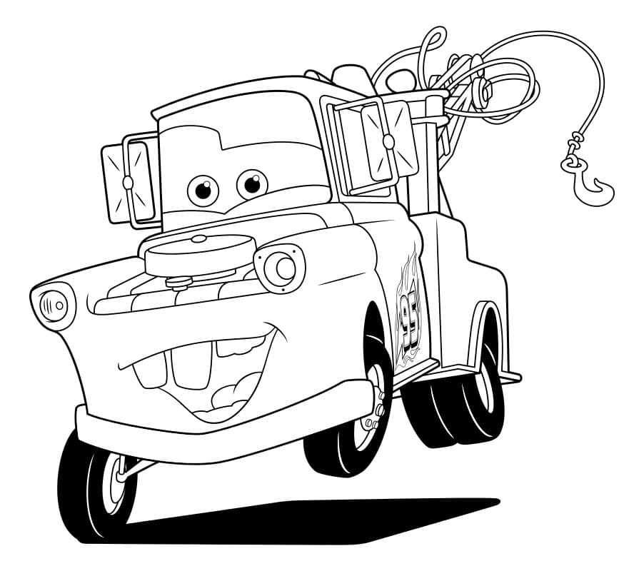 Lightning Mcqueen coloring pages