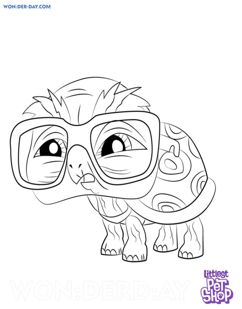 Coloriage Littlest Pet Shop sur WONDER DAY.COM