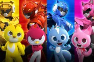 Coloriages Miniforce. Imprimer gratuitement pour les enfants