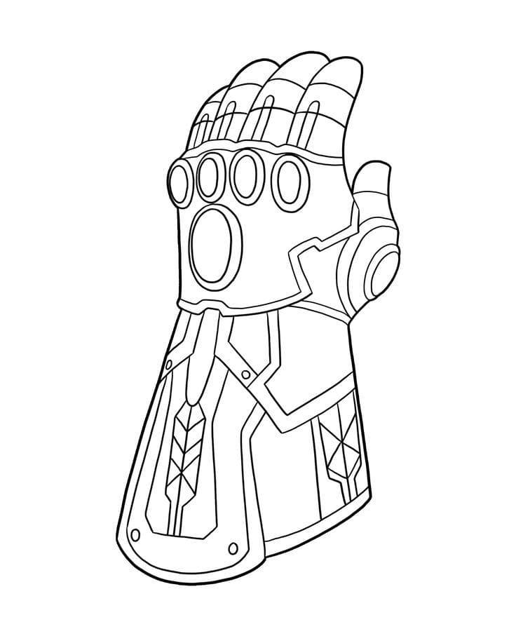 Dibujos De Thanos Para Colorear En Wonder Day Com