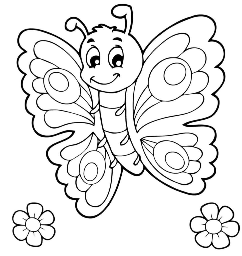 Ausmalbilder Schmetterling - 27 Malvorlagen zum Ausdrucken