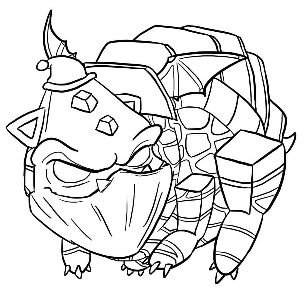 Clash Royale Coloring Pages Free Coloring Pages