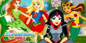 Coloriage DC Superhero Girls