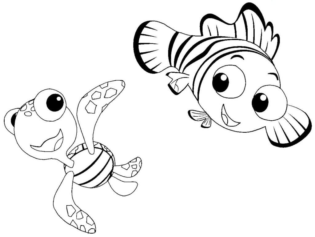 Ausmalbilder Disney. 22 Malvorlagen für Kinder  WONDER DAY