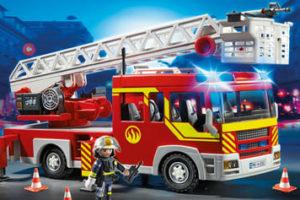 Ausmalbilder Feuerwehrauto. Drucken für Kinder