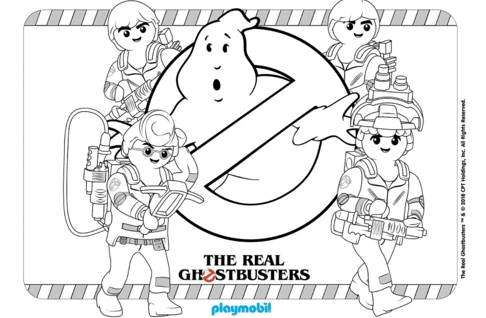 Ghostbusters Coloring Pages Free Coloring Pages Wonder Day