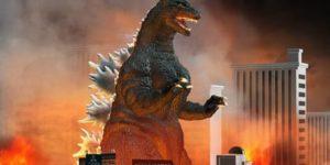 Ausmalbilder Godzilla