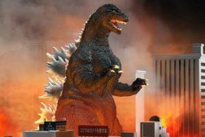 Desenhos do Godzilla para colorir