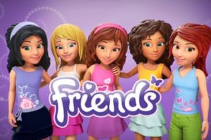 Disegni da colorare di Lego Friends