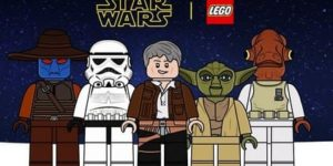 Disegni da colorare di Lego Star Wars