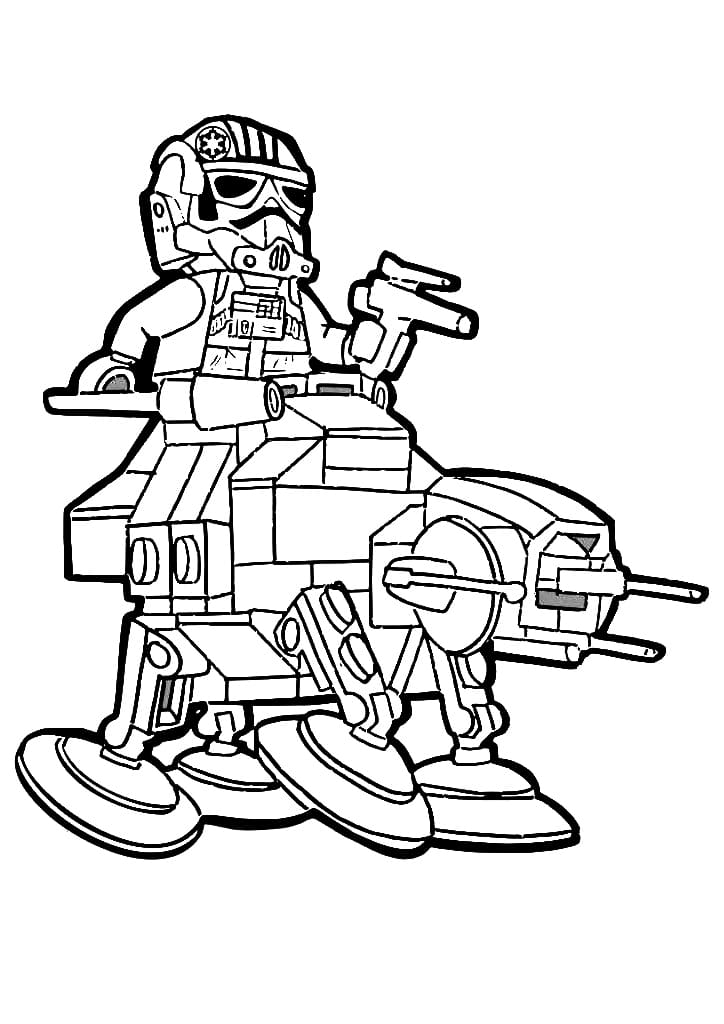 Lego Star Wars Coloring Pages Download And Print