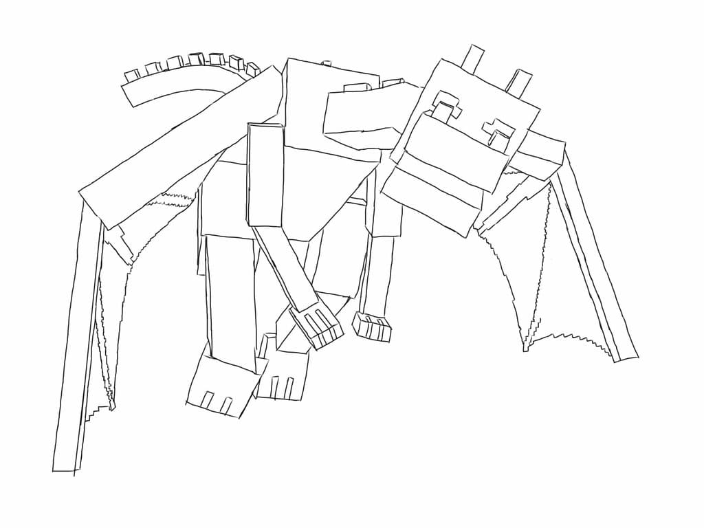 Ender Dragon Coloring Pages Print For Free Wonder Day