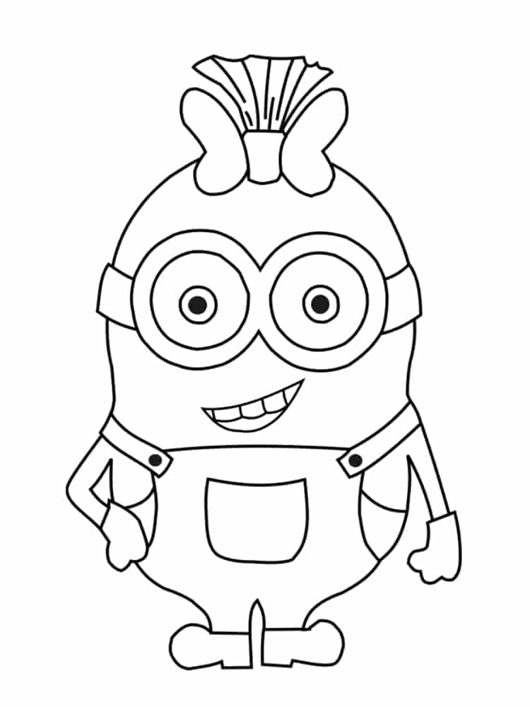 Despicable Me Coloring Pages - 90 Free Coloring Pages