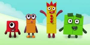 Numberblocks coloring pages
