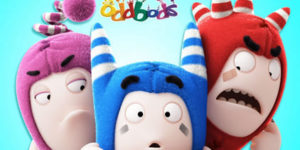 Oddbods coloring pages