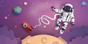 Ausmalbilder Weltraum. 100 Malvorlagen zum Ausdrucken