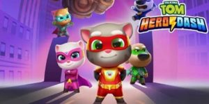Coloriage Talking Tom Heroes